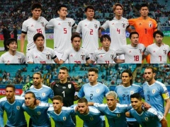 コパアメリカ日本代表ウルグアイ戦、パス成功率ランキング!