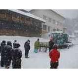 『雪上車の安全祈願祭』の画像