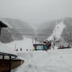平湯温泉スキー場でスキー【2019】