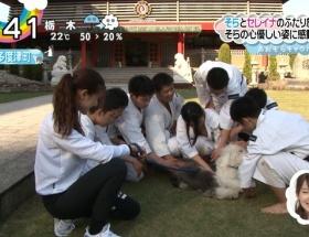 【放送事故】昨日のZIPの小林少女のおっぱい丸見え事件wwwwww