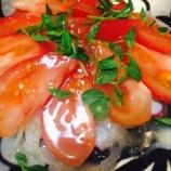 『[10分料理] スライスタコとトマトマリネ』の画像