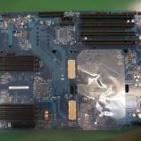『PowerMacG5のロジックボード コンデンサ交換』の画像
