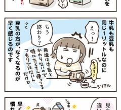 豆乳にチェンジ!