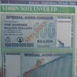 『1000億ジンバブエドル。』の画像