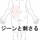 『ギックリ腰 室蘭登別すのさき鍼灸整骨院 症例報告』の画像