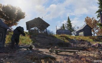 キャンプ・アダムスとキャンプ・アダムス監視地点