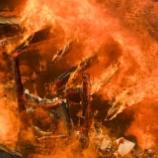 『カリフォルニアの山火事』の画像