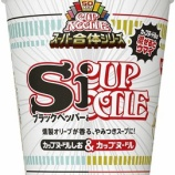『【カップラーメン】日清食品 カップヌードル スーパー合体シリーズ 「カップヌードル&しお」』の画像