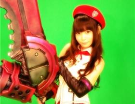 【画像】中川翔子のゴッドイーターのコスプレが可愛すぎる