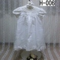 白のベビードレス(24マンス)1500円 H-006