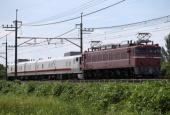 『2018/7/23運転 EF81-81牽引キヤE193系2両回送』の画像