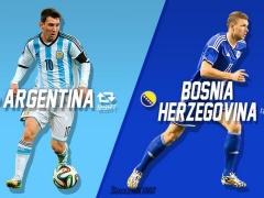 【速報】メッシが決めた!アルゼンチンがボスニア・ヘルツェゴビナから逃げ切り勝利!(動画あり)