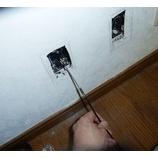 『我が家のLANケーブルを再敷設していた。』の画像