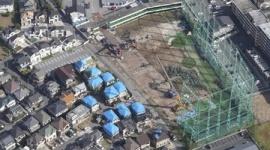 【千葉】台風で倒れた鉄柱の撤去作業終わる…市原ゴルフガーデン