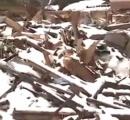【雪の重さの恐怖】雪の重みで住宅1棟全壊 住民は逃げ出し無事 石川