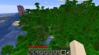 草の塔を作る