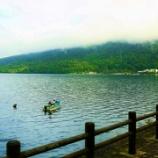 『中禅寺湖💜華厳の滝』の画像