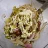 ポテトがちょっと高くって急遽「ツナエッグサラダ」&「やっぱりスタンプ&クーポンがあるのは嬉しい」