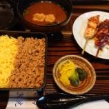 『創業明治25年の鶏料理専門店で「鳥そぼろ弁当セット」@鳥光 さんプラザ店』の画像