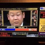 『三ちゃん三中元克のやらせ号泣クビ卒業式の生放送裏側をめちゃイケで公開【画像】』の画像