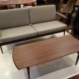 『【飛騨の家具 先行予約会 2013】飛騨産業のSEOTOシリーズのソファ・KD12WLU』の画像