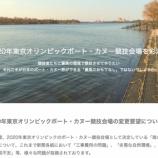 『戸田監督会が「2020年東京オリンピックボート・カヌー競技会場の変更要望」を求める記者会見をされました』の画像