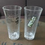 『【YAMAZAKI】 グラス 漢字仕様21』の画像