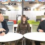 『クイズ王『坂道ファンは汚すなと吉本坂に怒ってる』東野『それは俺も分かってるだからこの企画無理だと思ってる』』の画像