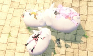ウサギが増えるということはウサギの数が多くなるということです