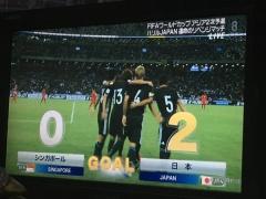 【速報動画】日本代表、2点目!本田圭佑ゴール!2-0!