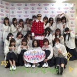 『森田ひかるがテレビ初パフォーマンス!欅坂46×タモサンタの集合写真を公開!【Mステ スーパーライブ2018】』の画像