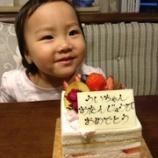 『娘、2歳!』の画像