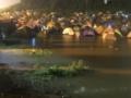【悲報】フジロックが大惨事。道が完全に川、テントが水没、橋が決壊、道がプール、踊り続ける客