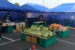 お弁当やケータリングの和心フーズが毎週開催している毎土市(交野市星田北)