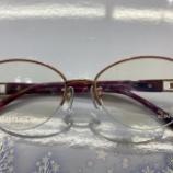 『人気レディース用眼鏡フレームのご紹介』の画像