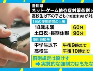香川県の条例に珍宝は対策するんですか?