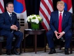 【米韓首脳会談】ムン大統領、トランプ大統領と守れもしない約束をしていたwwwww