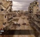 【動画】内戦で全てが破壊された廃墟となったシリアの悲惨過ぎるドローン撮影映像登場へwへ
