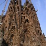 『スペイン バルセロナ旅行記3 外観から内部全てがラスボス並の芸術品、世界遺産のサグラダ・ファミリア』の画像
