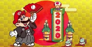 マリオ、スプラなど任天堂キャラクターが新年を祝う!公式年賀イラストまとめ