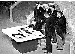 河野大臣「韓国の賠償請求権を認めたらサンフランシスコ条約を破棄する」⇒ アメリカの回答wwwwwwww