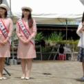 2015藤沢産業フェスタ その8(海の女王2014(桑島沙恵・阿部穂乃実)&司会者)
