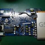 『imac G5 ロジックボードのコンデンサ交換手術』の画像