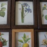 『花の額・時計製作』の画像