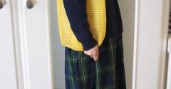 お気に入りの北欧テキスタイルのバッグを持って再入院!