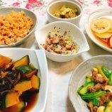 『今週の作り置き薬膳おかずと晩ご飯』の画像