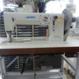 『JUKI TNU-243U(極厚物用1本針本縫い半回転シャトル釜総合送りミシン)&JUKI DLN-9010A(本縫い針送り自動糸切りミシン)のセットアップ!』の画像