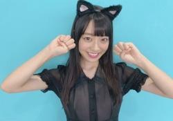 """【反則的可愛さ】阪口珠美ちゃんの""""黒猫コス""""がぐうかわ過ぎる件wwwww"""