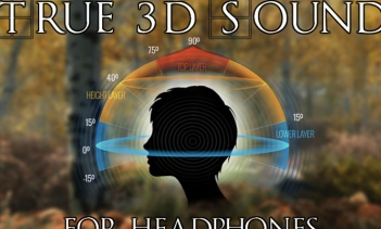 True 3D Sound for Headphones