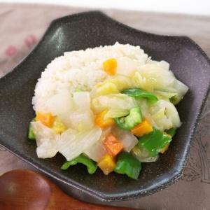 野菜の水分だけで作る♪無水中華丼